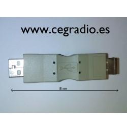 Adaptor usb 2.0 Macho / Hembra
