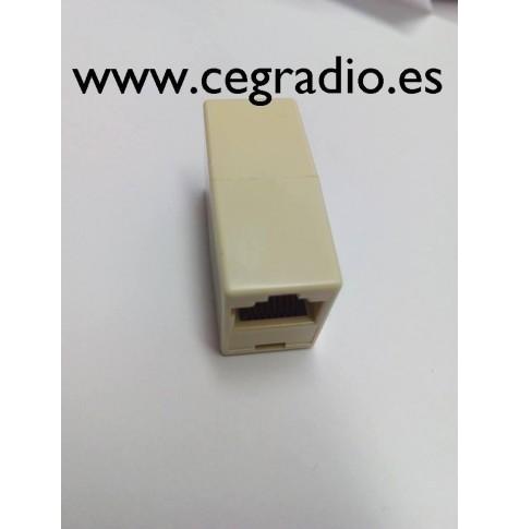 Conector entrada y salida