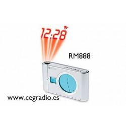 RM888 Oregon Scientific Reloj Alarma Digital Vista General