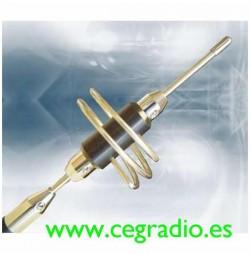 D_Original SB-007 Antena Movil Bibanda VHF UHF Vista Bobina