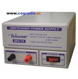 Fuente Alimentacion Telecom SPS-79 12V 7-9A