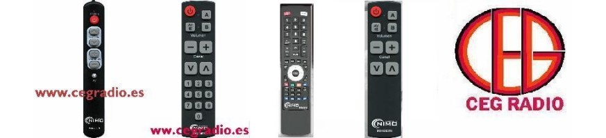 Mandos Universales TV, Hifi, TDT, SAT