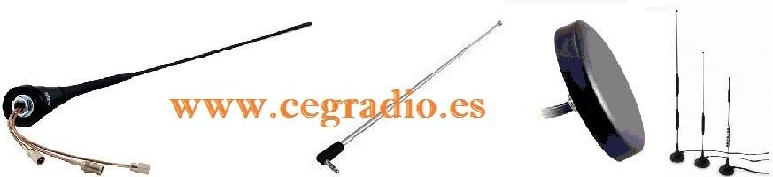 Antenas Móvil FM-GSM