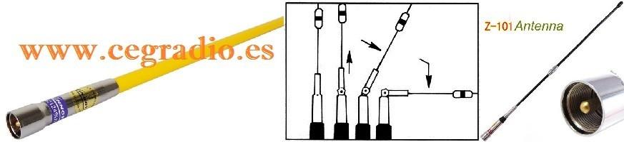 Antenas Móvil VHF-UHF