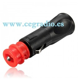 Conector Mechero Macho 12V 24V Vista General
