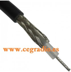 RG-58 CABLE COAXIAL Dressler Vista Malla Nucleo