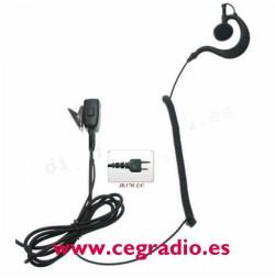 Jetfon Micro Auricular JR-1701 EC Vista Completa