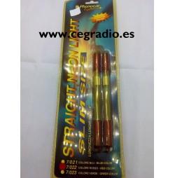 Pack 2 Lamparas Neon Rojo Phonocar 7/022 Vista Blister