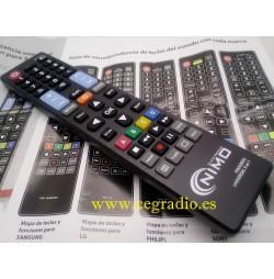 Mando universal TV LG PANASONIC PHILIPS SAMSUNG SONY Vista General