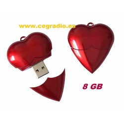Memoria USB 8GB Gato Negro