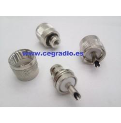 Conector PL 259 Macho RG-58