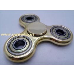 Spinner Plástico-Metal Anti Estrés Oro