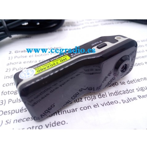 PINZE MD80 Mini Camara DV