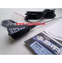 SIRIO TAIFUN 118-480 MHz ANTENA MOVIL VHF UHF Vista Superior