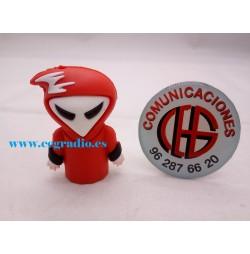 Memoria USB 8GB Red Ghost Vista General