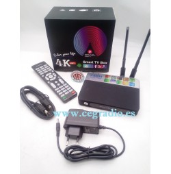 Smart TV Box CSA93 4K Android 7.1 Amlogic S912 Octa Core 2 GB 16 GB