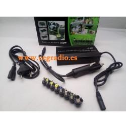 Cargador Alimentador Universal 220V 12V 120 W Ordenador Portátil