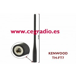 Antena Original Kenwood TH-FT7E SMA Macho VHF UHF