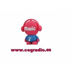 USB 8GB Muñeco musical