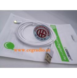 1.5m Ugreen Cable Micro USB de Nylon Trenzado