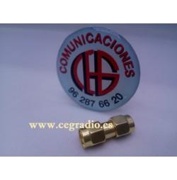 Conector Adaptador Coaxial SMA Macho a SMA Macho