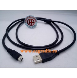 1,5 m Cable de Datos y Carga USB a Mini USB 5 pin