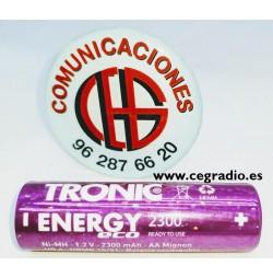 Pila TRONIC 2300 AA Ni HM recargable