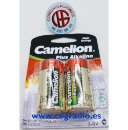 Pilas Camelion Alcalinas LR14