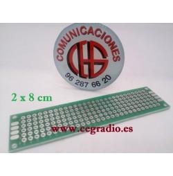8 x12 cm PCB placa fibra de vidrio doble circuito impreso universal para arduino