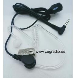Micro Auricular Jetfon JR-1804 Dynascan Yaesu Vista General