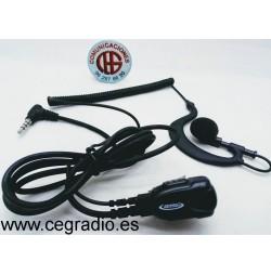 Micro Auricular Jetfon JR-1704 Vista Completa