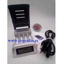 C905W Cargador Universal LCD Inteligente AA/AAA NiCD NiMH