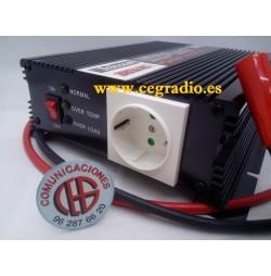 TELECOM A-301/600-24 INVERSOR DE 24V A 220V 600W