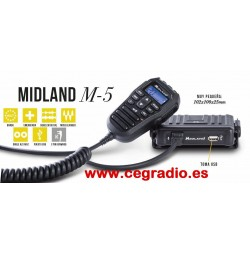 Midland M-5 Emisora Compacta CB 27 Mhz Vista General