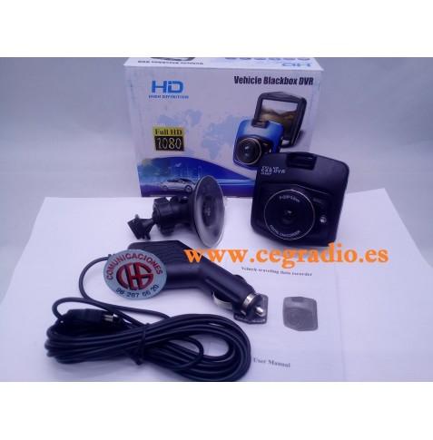 Camara Coche GT300 FULL HD Vista Caja