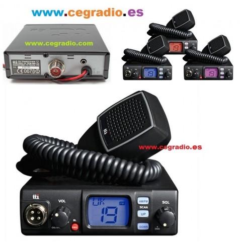 TTi TCB-560 Emisora CB 27Mhz Vista Multiple