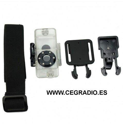 Mini Funda Cubierta Impermeable Camara DV MD80 DVR Vista General