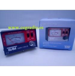 TEAM SWR-1180-W Medidor SWR Watimetro CB HF 1.7-30 MHZ Vista Completa