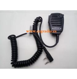 JETFON JR-7002-K Microfono Altavoz Kenwood Dynascan Vista General