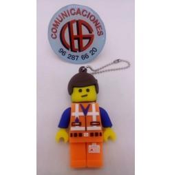 32GB Memoria USB Muñeco LEGO Vista Completa