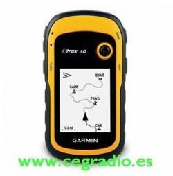 GPS Garmin Etrex 10 Vista Frontal
