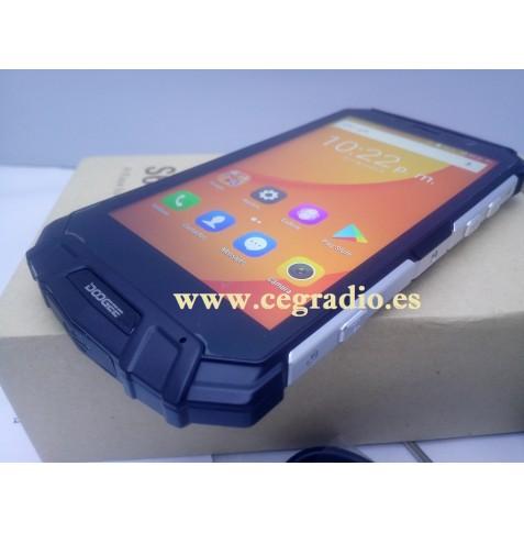 DOOGEE S60 Lite IP68 Telefono Movil Impermeable Bateria 5580 mAh 5,2 Pulgadas Vista Lateral