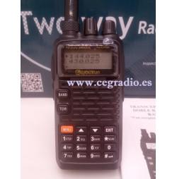 WOUXUN KG-UV899 Walkie Bibanda VHF UHF Vista Frontal