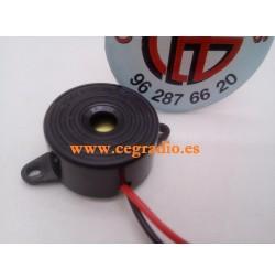 Zumbador Piezoeléctrico Electronico Alarma 95db DC 3V-24V Vista General