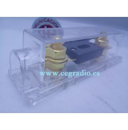 Porta Fusible ANL Transparente 12V 24V Vista General