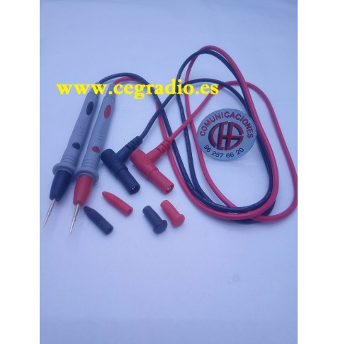 CLEQEE Sondas Cable Multimetro Vista Vertical