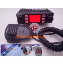 PACK Jopix GS30 Emisora + Antena Jetfon M-1100 CB 27 MHZ Vista Conjunta