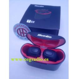 Bluedio T-ELF Mini TWS Auriculares Bluetooth 5.0 Caja De Carga Vista Caja