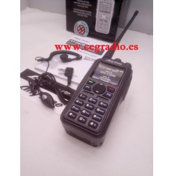AT-D878UV PLUS TRANSCEPTOR PORTATIL DMR 144-430 MHZ BLUETOOTH GPS Vista pinganillo