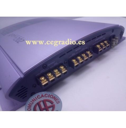 Clarion APA 4202 Amplificador Car Audio 600W Max Vista Frontal